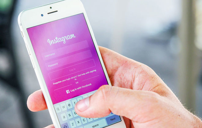 Instagram on a mobile phone   Kings Patent & Trade Marks Attorneys